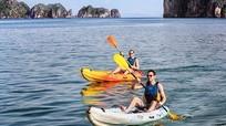Du khách sẽ không được chèo thuyền kayak trên vịnh Hạ Long