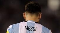Messi: 'Tôi nói vào không khí'