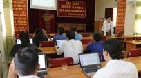 Tập huấn nghiệp vụ báo chí tại huyện Tương Dương