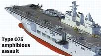 Hé lộ Trung Quốc đóng tàu đổ bộ tấn công lớn nhất cho hải quân