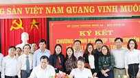 Tăng cường tuyên truyền về hoạt động công thương trên Báo Nghệ An