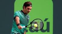 Cứu hai điểm kết thúc trận, Federer vào bán kết Miami Open