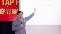 Tập huấn nghiệp vụ báo chí tại huyện Yên Thành
