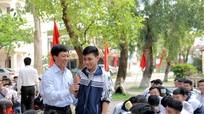 Hơn 300 học sinh tham gia ngày hội tư vấn tuyển sinh và hướng nghiệp