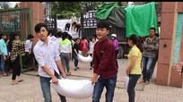 Tương Dương: Tiếp nhận hơn 152 tấn gạo hỗ trợ học sinh