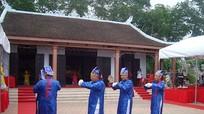 Lễ hội Làng Vạc khai mạc đúng ngày giỗ Tổ Hùng Vương