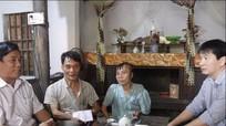 Nhóm thiện nguyện Niềm tin giúp đỡ hai gia đình khó khăn ở Diễn Châu