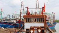 Ngư dân Nghệ An chung vốn đóng tàu lớn