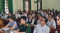 Tập huấn nghiệp vụ làm báo điện tử tại huyện Anh Sơn