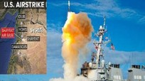 Những cuộc tấn công Mỹ sử dụng tên lửa hành trình Tomahawk
