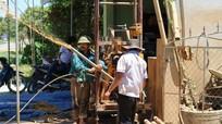 Nghệ An: Người dân đổ xô khoan giếng chống hạn