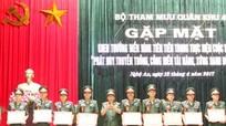 Bộ Tham mưu Quân khu 4 khen thưởng 44 cá nhân điển hình tiên tiến