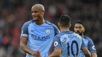 Man City thắng đậm, vươn lên thứ ba Ngoại hạng Anh