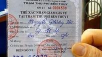 Vì sao thẻ miễn vé qua cầu Bến Thủy I lại ghi 'Thẻ giảm giá'?