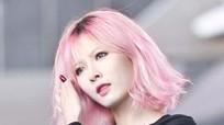 Nổ bật với màu tóc hồng khói