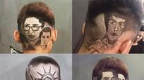 Chàng trai xứ Nghệ cắt tóc hình diễn viên 'sống chung với mẹ chồng' trên đầu khách