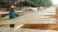 Giữ lửa cho làng nghề bánh đa ở Thanh Chương