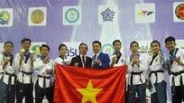 Việt Nam giành hai HC Vàng giải taekwondo trẻ châu Á
