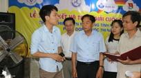 52 sản phẩm tham dự Cuộc  thi Sáng tạo Thanh Thiếu niên nhi đồng