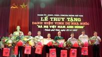 Thành phố Vinh truy tặng danh hiệu cho 9 bà mẹ Việt Nam anh hùng