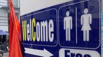 Công sở mở nhà vệ sinh miễn phí cho du khách