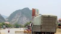 Đường nối QL1A - Nghĩa Đàn - Thái Hòa vừa thông xe đã cấm