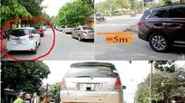 Những kiểu dừng, đỗ ô tô dễ bị cẩu xe và nộp phạt