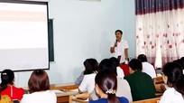 Tập huấn nghiệp vụ báo chí cộng tác viên huyện Diễn Châu