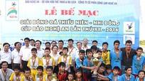 Giải bóng đá TN-NĐ Cúp Báo Nghệ An: Thúc đẩy phong trào xã hội hóa thể thao