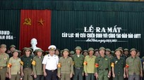 Ra mắt Câu lạc bộ Cựu chiến binh với công tác đảm bảo an ninh trật tự