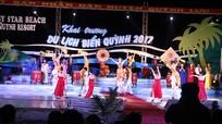 Tưng bừng khai hội mùa du lịch biển Quỳnh