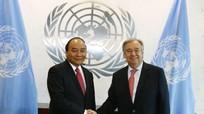 Thủ tướng đề nghị Tổng thư ký LHQ thúc đẩy giải quyết tranh chấp Biển Đông