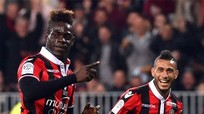 Balotelli ghi bàn, Nice hủy hoại hy vọng vô địch của PSG