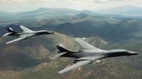 Sức mạnh máy bay B-1 vừa quần thảo trên trời Triều Tiên