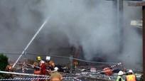 Nổ hầm đường sắt cao tốc Trung Quốc, 12 người chết