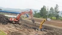 Dự án cống Nam Đàn hơn 536 tỷ đồng tiếp tục chậm tiến độ