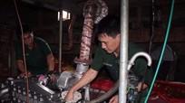 Bộ chỉ huy quân sự tỉnh hưởng ứng Tháng hành động về An toàn vệ sinh lao động