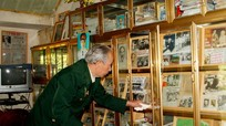 Người cựu chiến binh sưu tầm hàng nghìn tư liệu về Bác Hồ