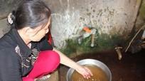 Hàng trăm hộ dân thành phố Vinh phải dùng nước bẩn