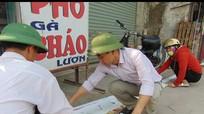 Quỳnh Lưu: Dân tự nguyện tháo dỡ các công trình lấn chiếm vỉa hè
