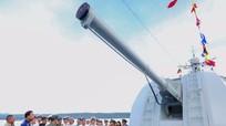 Tàu Hải quân Trung Quốc đến Cảng quốc tế Thành phố Hồ Chí Minh