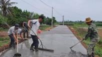 Yên Thành chung sức xây dựng Nông thôn mới