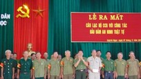Quỳnh Ngọc: 75 cựu chiến binh tham gia Câu lạc bộ đảm bảo an ninh trật tự