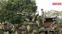 Việt Nam đưa pháo tự hành 105mm vào trực chiến