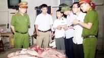 TP. Vinh: Phát hiện hộ giết mổ gia súc không có tem kiểm định