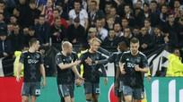 Thua đậm Lyon, Ajax vẫn vào chung kết gặp Man Utd