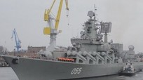 Tuần dương hạm Nga diễn tập rầm rộ đáp trả Mỹ, Anh, Romania