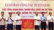 Giao ban công tác tuyên giáo 7 tỉnh tại Nghệ An