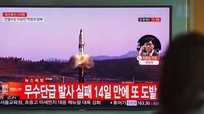 Tên lửa Triều Tiên rơi cách Nga dưới 100km