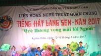 Liên hoan tiếng hát làng Sen ở Nghĩa Đàn